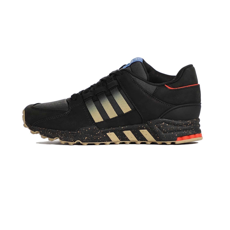 کفش مشکی طلایی آدیداس کنسرسیوم از بغل